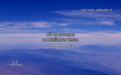 Leap Year Promise - Wednesday February 29,2012