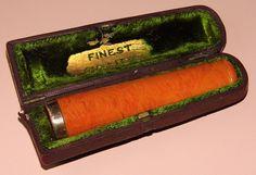 Vintage Catalin Plastic Cigar Holder.