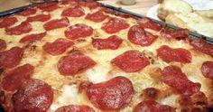 Pizza Casserole ~ good recipes
