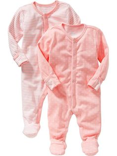 Patterned One-Piece 2-Packs for Baby