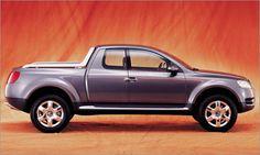 VW Touareg pickup truck. Yes please!