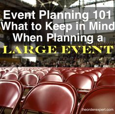 Planning a large event? Be sure to keep these pointers in your back pocket! Planning a large event? Be sure to keep these pointers in your back pocket! Planning a large event? Be sure to keep these pointers in your back pocket! Event Planning Template, Event Planning Checklist, Event Planning Business, Party Planning, The Plan, How To Plan, Office Organization At Work, Organisation Hacks, Organizing Ideas