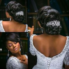 hairstyles natural black hair hairstyles with bangs for black hair braid hairstyles hairstyles images braided hairstyles color 51 hairstyles lines hairstyles with afro puff hairstyles black girl Black Wedding Hairstyles, Bride Hairstyles, Hairstyles 2018, Evening Hairstyles, Hairstyles Videos, Braids For Black Women, Braids For Black Hair, Bridesmaid Hair, Wedding Hairstyles