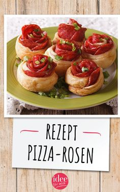 Pizza Rosen, Snacks Für Party, Food Blogs, Party Time, Food And Drink, Easy, Savory Snacks, Amazing, Food And Drinks