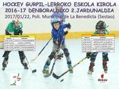 Segunda jornada escolar hockey línea de Bizkaia