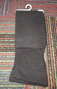 NEW GIRLS CHEROKEE BLACK COTTON BLEND TIGHTS SIZE 4T-5T, NWOT #Cherokee #Tights