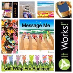 Get your wraps on!  http://tammyclampet.myitworks.com