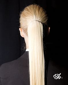 Fall/Winter Fashion Week. Hair by Bb. Stylist Neil Moodie. #fashionweek #fashion #hair #bumbleandbumble #style
