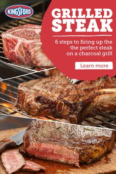 Grilled Steak Recipes for Your Next Cookout – Grilling Doctor Grilled Steak Recipes, Grilled Meat, Grilling Recipes, Pork Recipes, Cooking Recipes, Grilling Ideas, Recipies, Ribs On Grill, How To Grill Steak