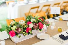 Flowers by Alison Buck Floral Design Photo by Jenna Marie Photography Venue: Elawa Farm, Lake Forest, IL
