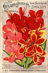 The Conard & Jones New Floral Guide, Spring 1899