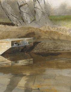 Andrew Wyeth Watercolor Artist | Print