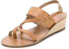 Alethea Wedge Sandals - Lyst