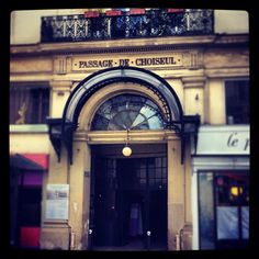 Passage de Choiseul @Paris    All my youth around this ¨quartier¨ and this ¨passage¨....