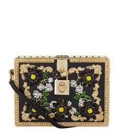 Dolce & Gabbana Crystal Embellished Dolce Box Clutch at harrods.com. Shop women's designer handbags online & earn reward points.