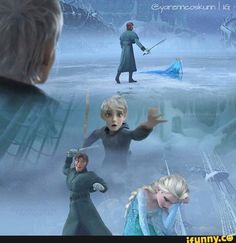 This should've happened! Jack is reaching out to Elsa.
