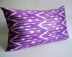 Sukan / Organic Silk ikat Pillow Cover Decorative Pillows by sukan, $49.95