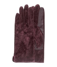 Product Detail   H&M US $24.99 Suede & Leather gloves