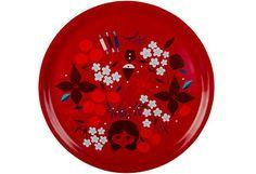 House Aatonaatto tarjotin 35 cm - tämä on kaunis ja käyttäisin kyllä vuoden ympäri Plates, Tableware, House, Products, Licence Plates, Dishes, Dinnerware, Griddles, Home