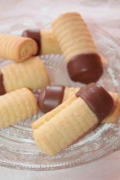 Biscuits Roulés Vanille Chocolat