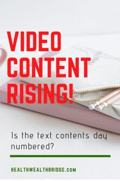 Will Video Marketing Ever Rule the World:Is the text dead? Content Marketing, Affiliate Marketing, Best Blogs, Life Savers, Blogging For Beginners, Texts, How To Start A Blog, Mummy Bloggers, Social Media