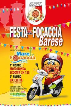 Concorso a premi Mare e #Focaccia, in occasione della Festa della Focaccia #Barese, domenica 27 #settembre 2015 a Bari