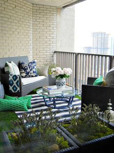 Terrace Balcony Garden Outdoor Landscaping Outdoor