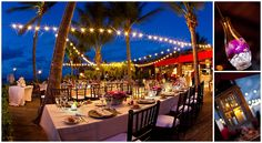 Evening Reception set up, Grace Bay Estates Turks and Caicos Islands, Photography: Brilliant by Tropical Imaging