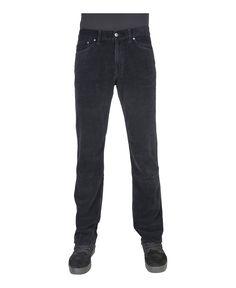 Carrera jeans - jeans uomo velluto coste regular fit con zip - 5 tasche - composizione:100% co - lavare 40° - Jeans uomo Blu
