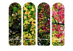 Autumn Leaves Printable Bookmark Tree by OxfordDownloads on Etsy