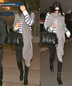 Kendall Jenner's Go-To Chelsea Boots When Going to the Aiport