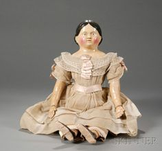 Large Papier-mache Child Doll | Sale Number 2482, Lot Number 609 | Skinner Auctioneers