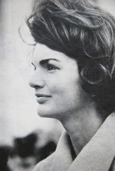 """First Lady Mrs ~~Jacqueline Lee (Bouvier) Kennedy """"Jackie"""" (July 28, 1929 – May 19, 1994). She is remembered for her contributions to the arts and preservation of historic architecture, her style, elegance, and grace. She was a fashion icon; her famous ensemble of pink Chanel suit and matching pillbox hat has become symbolic of her husband's assassination and one of the lasting images of the 1960s.  ♡❀♡❀♡❀♡✿♡❁♡✾♡✽♡  http://en.wikipedia.org/wiki/Jacqueline_Kennedy_Onassis"""