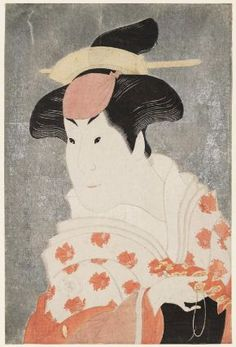 Actor Iwai Hanshirô IV as the Wet Nurse Shigenoi  四代岩井半四郎の乳人重の井  Japanese, Edo period, 1794 (Kansei 6), 5th month  Artist Tôshûsai Sharaku, Japanese, active 1794–1795, Woodblock print (nishiki-e); ink, color, and mica on paper, MFA