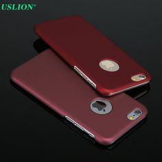 새로운 아이폰 6! 럭셔리 울트라 슬림 전화 커버 아이폰 6 6 초 플러스 젖빛 하드 플라스틱 매트 커버