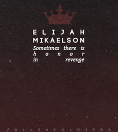 elijah mikaelson | Tumblr
