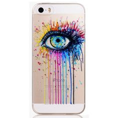 Colorful Eye Phone Case Cover Iphone 6/6s Plus This is for Iphone 6 Plus and 6s Plus (Not Iphone 6 or 6s). Soft Silicon Clear Case Cover with Lovely Print. Brand new. High Quality. Easy access to all buttons, controls and ports without having to remove the bumper. Fashion design, easy to put on and easy to take off. No trade. Feel free to browse my closet. Accessories Phone Cases