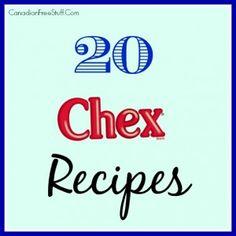 20 Chex Recipes
