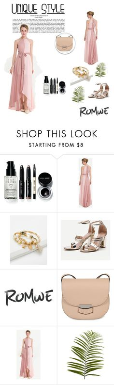 """Romwe 94"" by zerina913 ❤ liked on Polyvore featuring Bobbi Brown Cosmetics, CÉLINE, Pier 1 Imports and romwe"