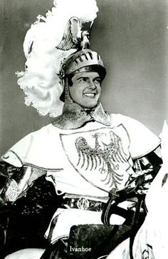 Roger Moore is Ivanhoe Roger Moore, Tv Vintage, Vintage Photos, Science Fiction, Most Handsome Actors, Old Tv Shows, Tv Actors, Old Hollywood, James Bond