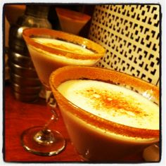 Pumpkin Martinis ;)