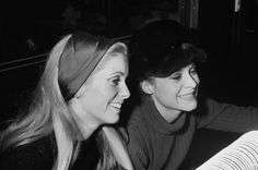 Françoise Dorléac and Catherine Deneuve
