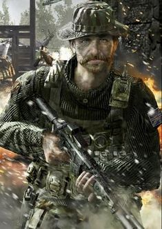 Captain. Price    Nowadays~ i'm interest about him!!    Call of Duty!