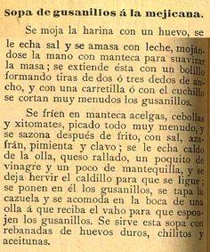 """Sopa de """"gusanillos"""" a la mexicana. Almanaque Bouret para el año de 1897 / formado bajo la dirección de Raúl Mille y Alberto Leduc. (R)/529.4 ALM.b.897. Calendarios Mexicanos del Siglo XIX. Fondo Antiguo. Biblioteca del Instituto Mora, México. Soup of """"worm"""" to the Mexican. Almanac Bouret for the year 1897 / formed under the direction of Raúl Mille and Alberto Leduc. (R) /529.4 ALM.b.897. Collection of Mexican Calendars of the 19th Century. Old Background. Library of the Mora Institute…"""