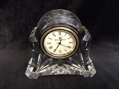Waterford Crystal Abbey Clock - Working, but Clock loses time every day