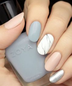 So Awesome Marble Nail Art Design