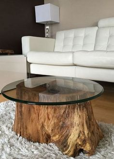 Wonderful Tree Stump Furniture Ideas_24