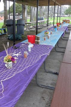 Decorating Ideas for Low-Country Boil Parties   Pinterest ...