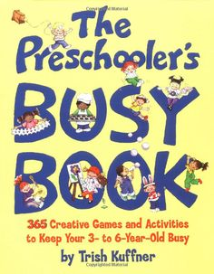 This book is AWESOME!! I got it a couple months ago and have LOVED it. The games and activities are simple yet very entertaining for our almost 3-yr old, and they require only household items (no need to go to the store to buy a bunch of craft supplies).