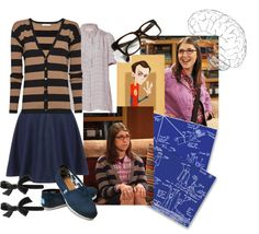 """""""I'll be Amy Farrah Fowler"""" by leahrae-1 on Polyvore"""